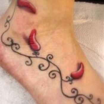 Fotos de Tatuagens de Pimenta3 Fotos de Tatuagens de Pimenta