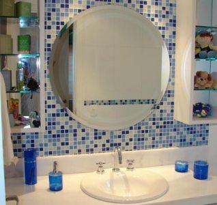 banheiros com pastilhas de vidro 2 Banheiros com Pastilhas de Vidro