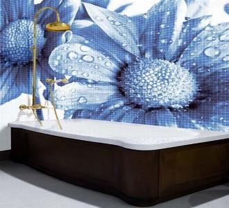 banheiros com pastilhas de vidro1 Banheiros com Pastilhas de Vidro