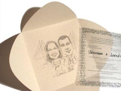 convites de casamento modernos 3 Convites de Casamento Modernos
