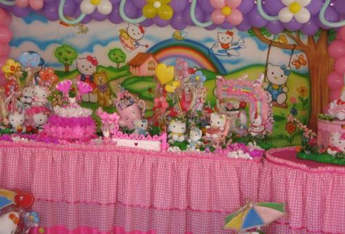 De Aniversario Infantil Masculino Feminino 300x203 Decora    O De