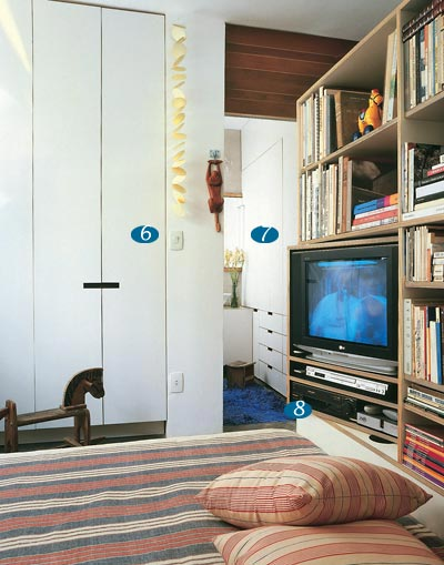 imagens decoracao ambientes pequenos:fotos de apartamento pequeno 235×300 Decoração de Ambientes Pequenos
