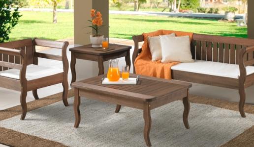 móveis de madeira para jardim Móveis de Madeira Para Jardim