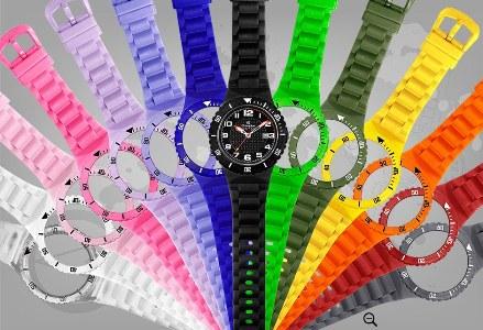relogios coloridos champion Relógios Coloridos Champion