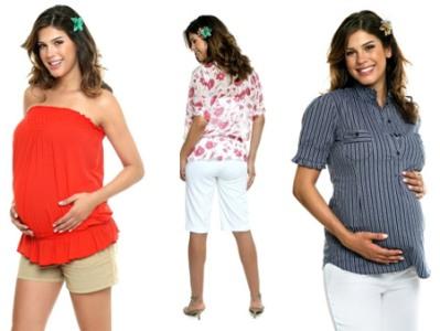 roupas para gestantes fotos Roupas Para Gestantes: Fotos