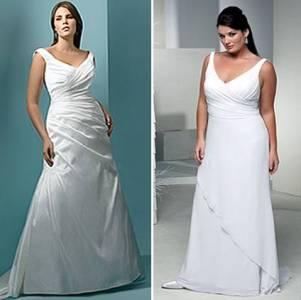 vestidos de noivas para gordas 2010 2011 fotos Vestidos de Noivas Para Gordinhas 2010 2011   Fotos