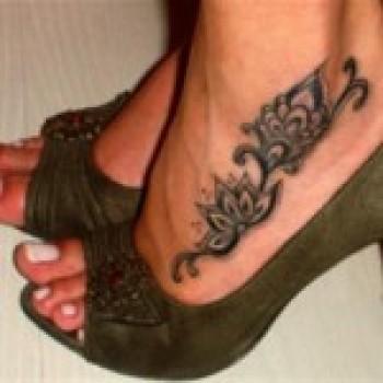 Tatuagem Tribal Feminina Fotos2 Tatuagem Tribal Feminina – Fotos