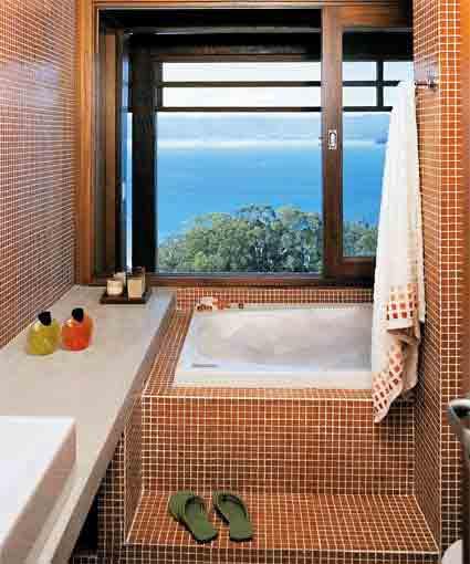BANHEIRAS PARA BANHEIROS PEQUENOS -> Banheiro Pequeno Com Box E Banheira