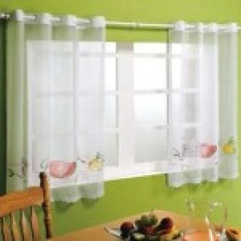 cortinas para cozinha com varão fotos 1 Cortinas Para Cozinha Com Varão   Fotos