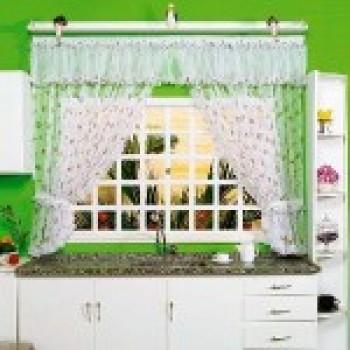 cortinas para cozinha com varão fotos 3 Cortinas Para Cozinha Com Varão   Fotos