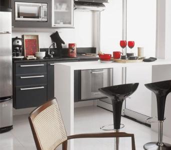 cozinha americana apartamento pequeno fotos 6 Cozinha Americana Apartamento Pequeno   Fotos