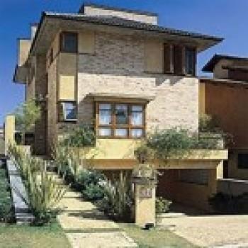 fachadas de sobrados modernos e residenciais  Fachadas de Sobrados Modernos e Residenciais
