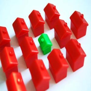 feirão da casa própria 2010 oportunidade para sair do aluguel Fachadas de Sobrados Modernos e Residenciais