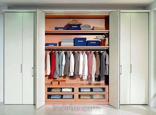 Fotos de closet modernos for Modelo closet para habitaciones