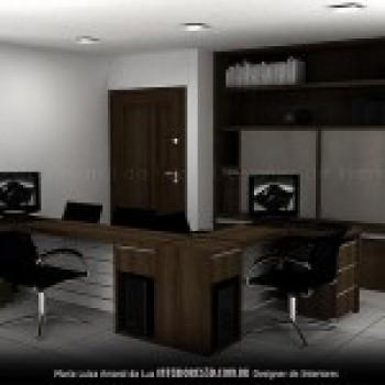 fotos de decoracao de interiores residenciais:fotos decoracao escritorios residenciais 300×225 Decoração de