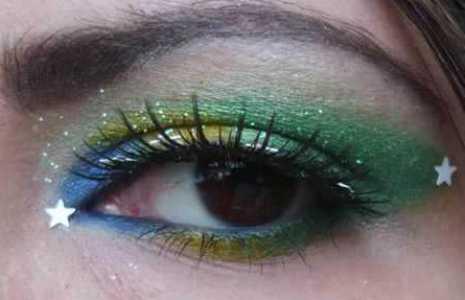 maquiagem para copa do mundo Maquiagem Para Copa do Mundo