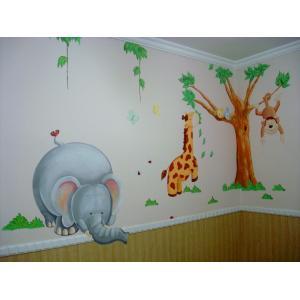 pintura de parede quarto infantil dicas Pintura de Parede em Quarto Infantil   Fotos e Dicas