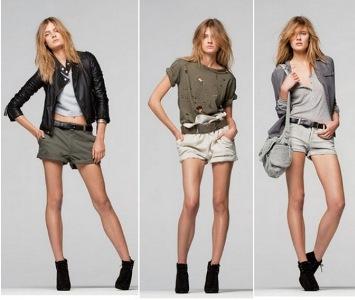 shorts da moda 2010 2011 fotos modelos e tendências Shorts da Moda 2012   Fotos, Modelos e Tendências