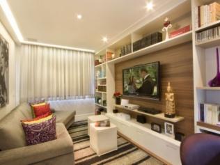 Dicas de decora o para ampliar o ambiente for Idea decorativa sala de estar pequeno espacio