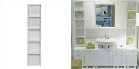 Gabinetes Nichos e Módulos Para Decorar Banheiros Pequenos 2 Gabinetes, Nichos e Módulos Para Decorar Banheiros Pequenos