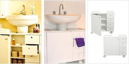 Gabinetes Nichos e Módulos Para Decorar Banheiros Pequenos Gabinetes, Nichos e Módulos Para Decorar Banheiros Pequenos