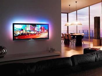 Iluminacao Para Sala de TV Fotos Dicas3 Iluminação Para Sala de TV   Fotos, Dicas