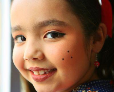 Maquiagem Infantil para Festa Junina Maquiagem Infantil para Festa Junina