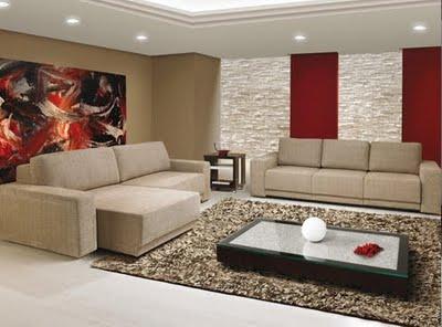 2° Sala de Estar Decoracao-moderna-sala-de-estar