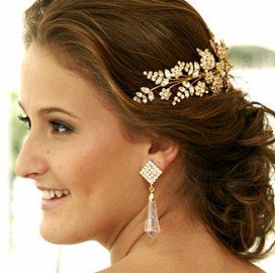 enfeites para cabelo de noivas Enfeites Para Cabelo De Noivas