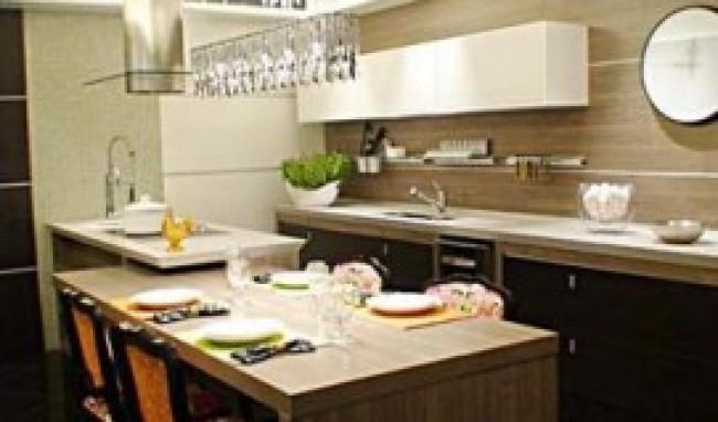 Bancadas de Madeira Para Cozinha Fotos2 Bancadas de Madeira para Cozinha   Fotos