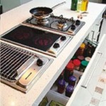 Modelos de Cozinhas com Cooktop Fotos2 Modelos de Cozinhas com Cooktop, Fotos