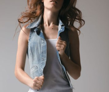coletes jeans tendencias modelos como usar Coletes Jeans   Tendências, Modelos, Como Usar