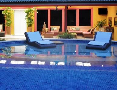 decoração de casas com piscina Decoração De Casas Com Piscina
