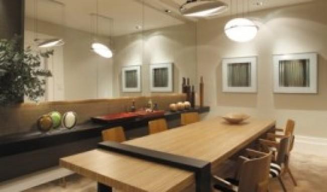 decoração de sala de jantar fotos 5 Decoração De Sala De Jantar   Fotos
