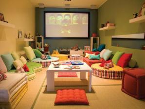 decoracao para sala de tv fotos dicas Decoração de sala de TV – Fotos – Dicas