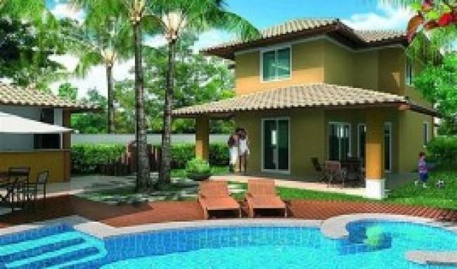 fotos de casas com piscinas