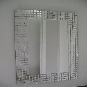 mosaico com espelhos para decorar a casa Mosaico Com Espelhos Para Decorar a Casa