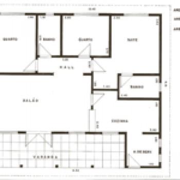 plantas de casas com 2 quartos 21 Plantas De Casas Com 2 Quartos