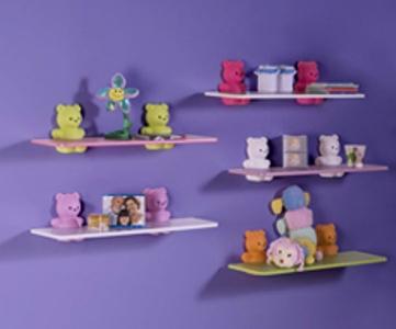 prateleiras para quartos de bebes Prateleiras Para Quartos de Bebês
