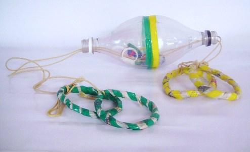 Brinquedos De Lixo Recicl  Vel 1 Brinquedos Recicl  Veis Como Fazer