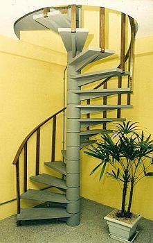 escada4 Escadas Residenciais de Aluminio, Fotos