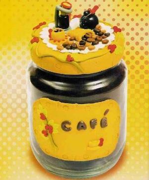 potes de biscuit decorados como fazer Potes De Biscuit Decorados   Como Fazer