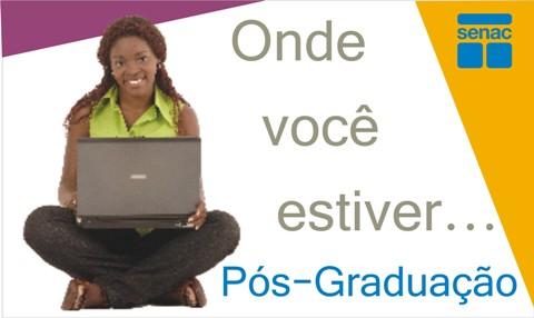 senac ead cursos de especializaçao a distancia senac roraima SENAC EAD, Cursos de Especialização a Distância SENAC Roraima