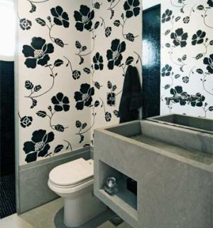 papel de parede para banheiro Papel De Parede Para Banheiro