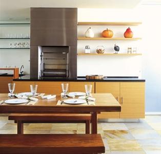 cozinhas integradas com churrasqueira Cozinhas Integradas Com Churrasqueira