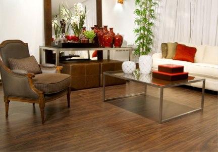 Linha de pisos laminados poliface - Piso para sala de estar ...