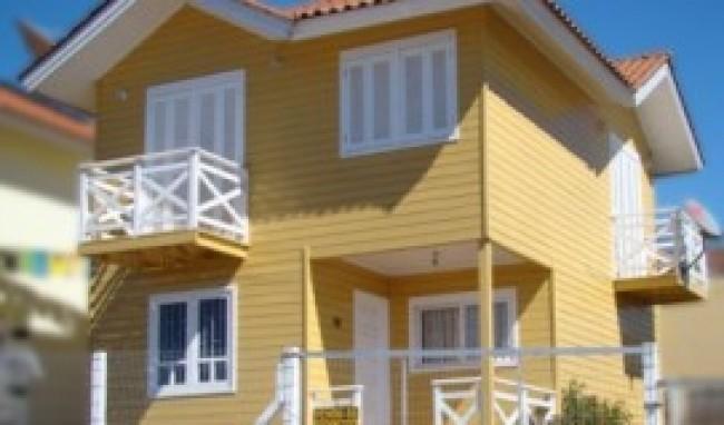 Pintura de casas de madeira dicas fotos - Pintura para casa ...