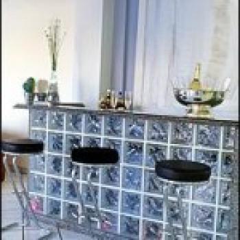 tijolos de vidro 2 Tijolos De Vidro Na Cozinha   Fotos