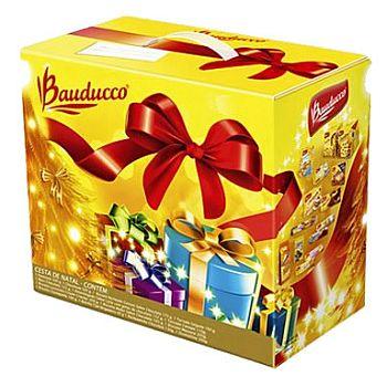 Cesta de Natal Bauducco Cesta de Natal Bauducco