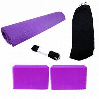 Kit de Equipamentos para Yoga Kit de Equipamentos para Yoga